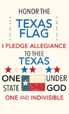 Texas Pledge of Allegiance