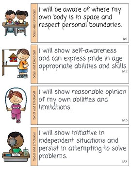 Texas Pre-K Guidelines- Social Emotional