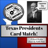 Texas Presidents Card Match