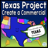 Texas Project: Create a Commercial to Attract Tourists! {Texas Research Project}