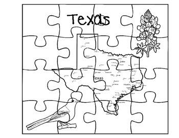Texas Puzzle Set