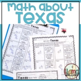 Math about Texas State Symbols through Division Practice