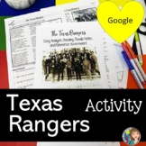 Texas Rangers Reading and Activity with Google Slides and Doodle Notes