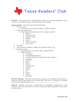 Texas Readers' Club