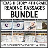 Texas Reading Passages Bundle Grade 4
