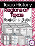 Texas History / Regions of Texas / Unit 1 / Printable & Digital
