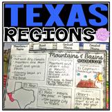 Texas Regions Flipbook