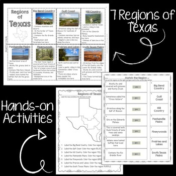 Regions of Texas BUNDLE