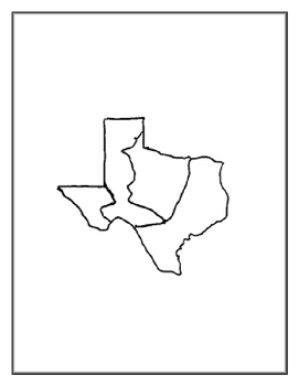 Texas Regions File Folder Project