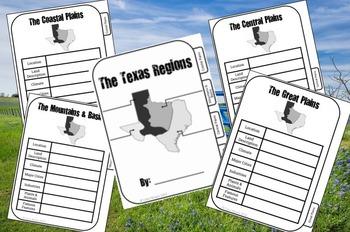 UNBUNDLED: Texas Regions Flip Book