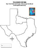 Texas Regions Foldable
