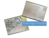 Texas Regions Postcard