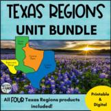 Texas Regions Unit BUNDLE - All THREE Regions of Texas products!