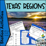 Texas Regions with Literacy Integration