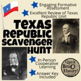 Texas Republic Scavenger Hunt