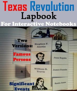 Texas Revolution Activity (Battle of the Alamo, Davy Crockett etc)