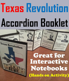 Texas Revolution Foldable: Battle of the Alamo, Davy Crockett etc