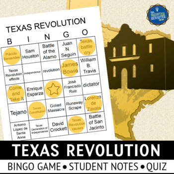 Texas Revolution Bingo