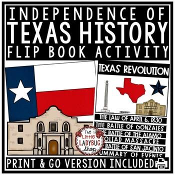 Texas Revolution & Texas Independence Flip Book