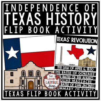 Texas Revolution & Texas Independence - Battle of Alamo Texas History 4th Grade