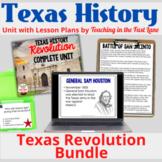 Texas Revolution Complete Unit Bundle