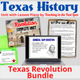 Texas Revolution Unit 4th Grade