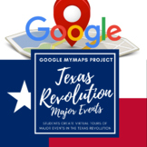 Texas Revolution Google My Maps Project