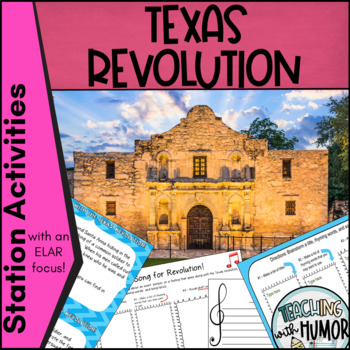 Texas Revolution LITERACY ACTIVITIES