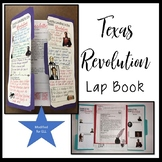 Texas Revolution Lap Book and Content Readings for ELL