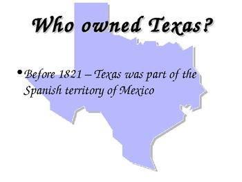 Texas Revolution PowerPoint