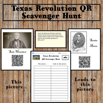 Texas Revolution QR Code Scavenger Hunt