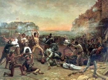 "Texas Revolution - The Alamo - Recreating ""The Fall of the Alamo"""