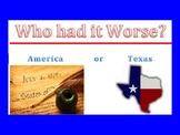 Texas Revolution-Relationships Gone Bad!