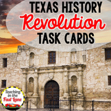 Texas Revolution Task Cards