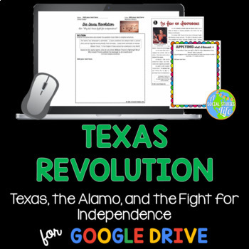 Texas Revolution: Texas, Battle of the Alamo, and the Lone Star Republic