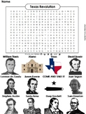 Texas Revolution Word Search