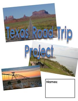 Texas History/Financial Lit. Road Trip Project (Google Classroom Compatible)