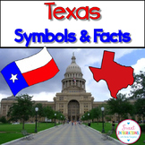 TEXAS STATE FACTS AND SYMBOLS:  Activities, Resources, and Bingo