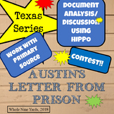 Texas-S.F.Austin's Letter from Jail-Document Analysis, Dra