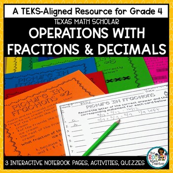 Operations with Decimals and Adding and Subtracting Fractions | TEKS Math