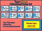 Texas STAAR Motivational Poster Set Blue