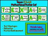 Texas STAAR Motivational Poster Set Green