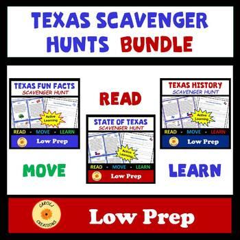 Texas Scavenger Hunts Bundle