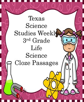 Texas Science Studies Weekly Grade 3 Life Science