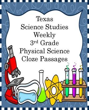 Texas Science Studies Weekly Grade 3 Physical Science