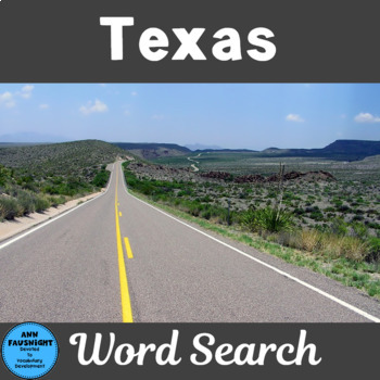 Texas Word Search