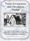 Texas Settlement Activity Packet