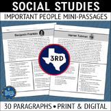 Social Studies Reading Comprehension Passages