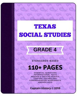 Texas Social Studies: Grade 4 Bundle