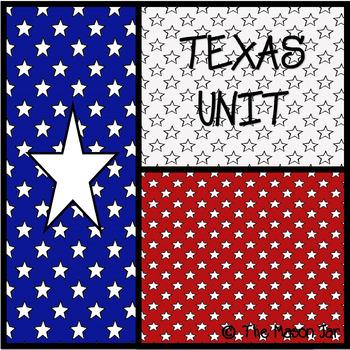 Texas Social Studies Unit - (No Prep)